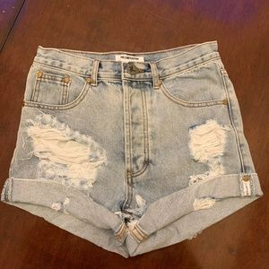 One Teaspoon Outlaws Shorts size 23